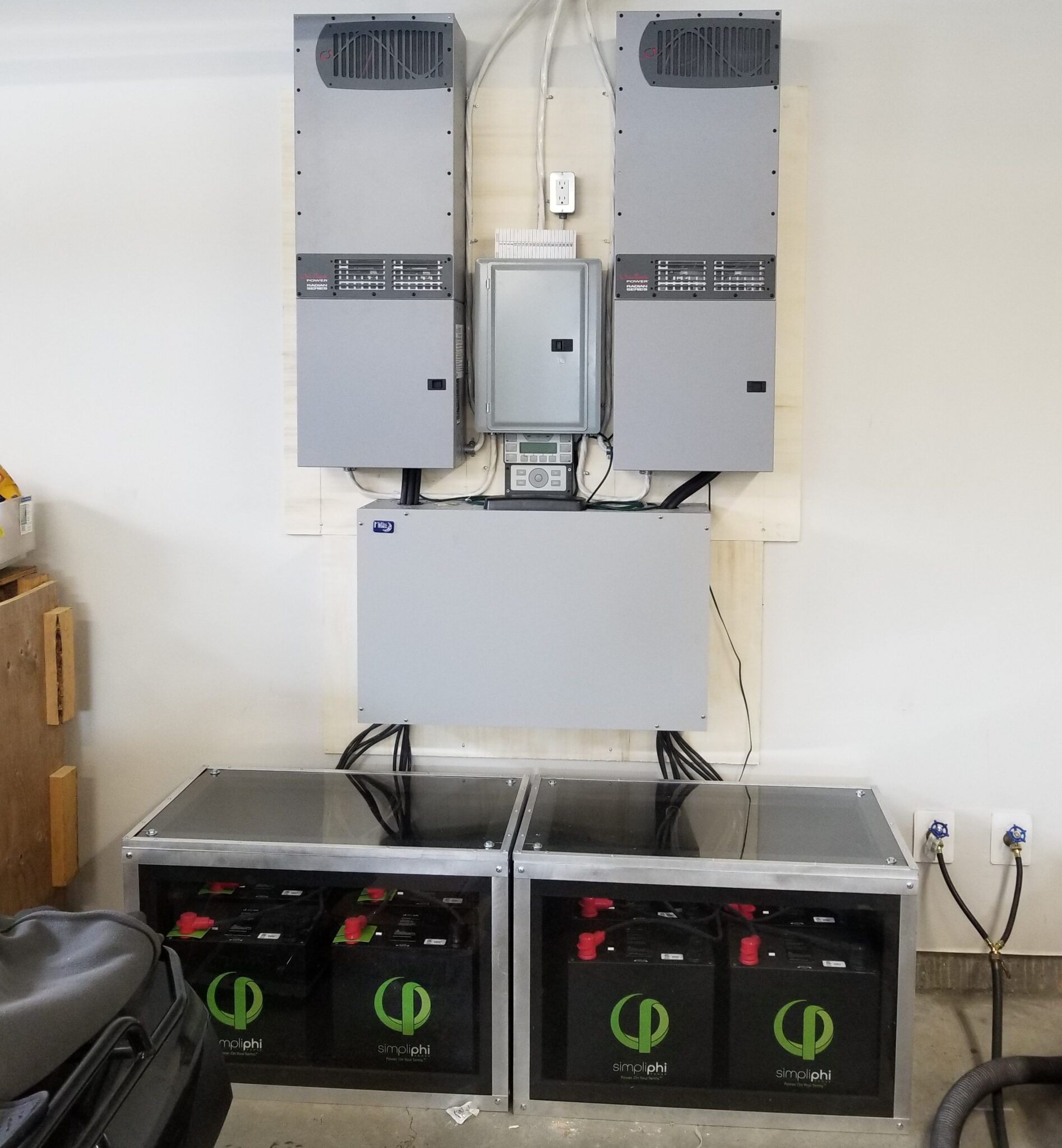 28kWh Backup system, Bearspaw