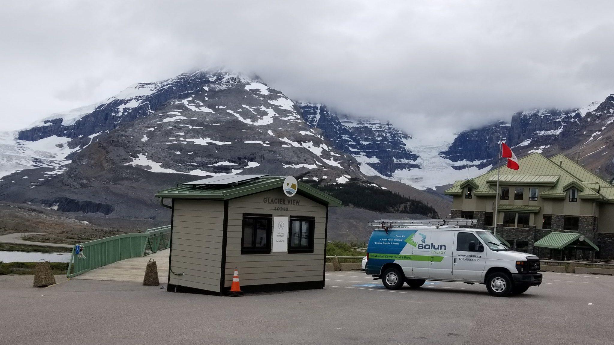 Off-Grid, Columbia Ice Field, Jasper National Park