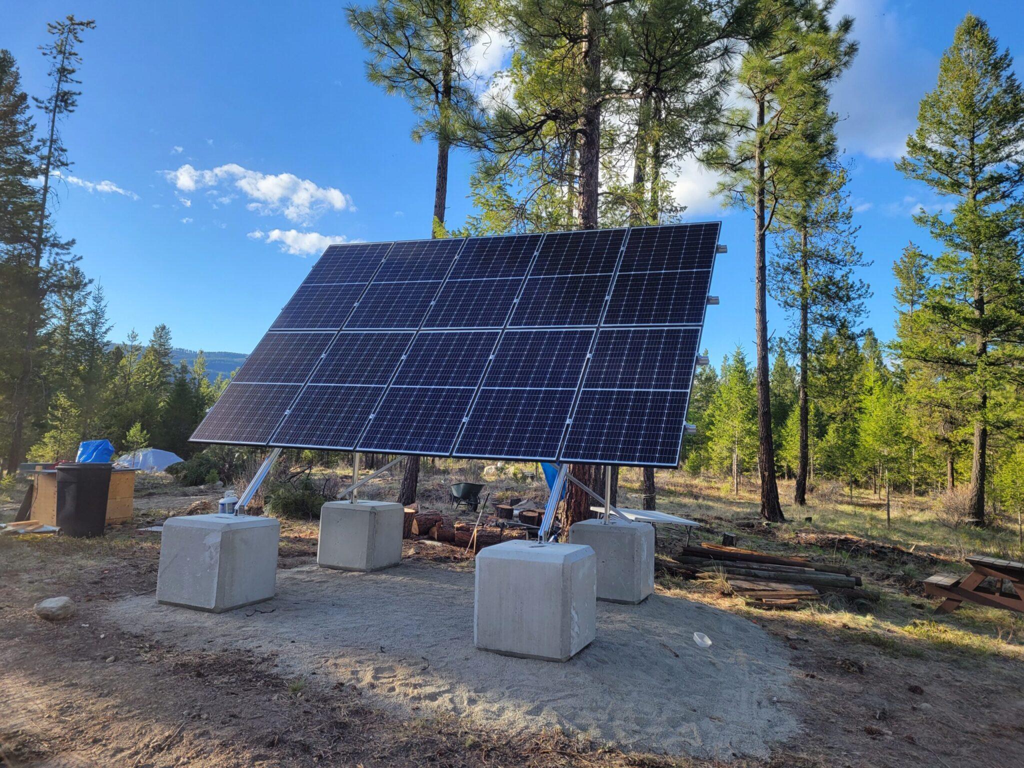 TATA Creek – Complete off grid system